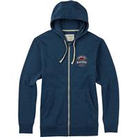Indigo Heather Burton Longtrailrpet Full Zip Hoodie Mens