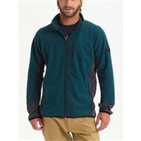 Deep Teal Heather / True Black Heather Burton Minturn Full Zip Mens