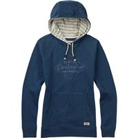 Indigo Heather Burton Moonrise Pullover Hoodie Womens