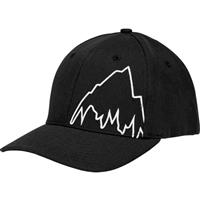 True Black Burton Mountain Slidestyle Hat Mens