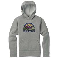 Burton Oak Pullover Hoodie - Girl's - Monument Heather