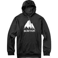 True Black Heather Burton Oak Pullover Hoodie Mens