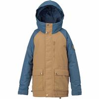 Kelp / Washed Blue Burton Phase Jacket Boys