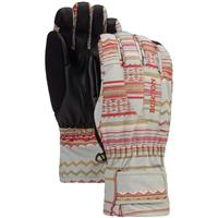 Burton Profile Under Glove - Women's - Aqua Gray Revel Stripe