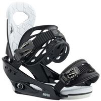 Black Burton Smalls Bindings Youth