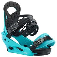 Surf Blue Burton Smalls Bindings Youth