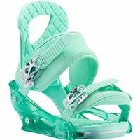 Spearmint Burton Stiletto Snowboard Bindings Womens