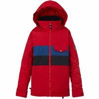 Process Red Block Burton Symbol Jacket Boys