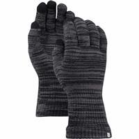 True Black / Faded Marl Burton Touch N Go Knit Glove Liner