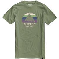 Oil Green Burton Underhill Logo SS Tee Mens