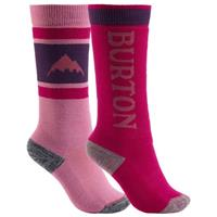 Burton Weekend Midweight Sock 2-Pack - Youth - Grapeseed