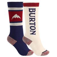 Burton Weekend Midweight Sock 2-Pack - Youth - Mood Indigo