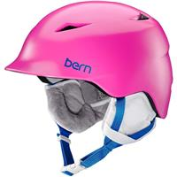 Satin Pink Bern Camina Helmet Girls