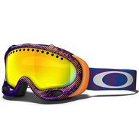Camo Net Purple Frame / Fire Iridium Lens (57 549) Oakley A Frame Goggle