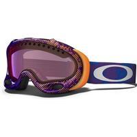 Camo Net Purple Frame / G30 Iridium Lens (57 550) Oakley A Frame Goggle