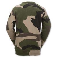 Camouflage Volcom Prep Crew Mens back