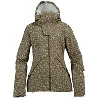 Capers Doodle Print Burton Society Jacket Womens
