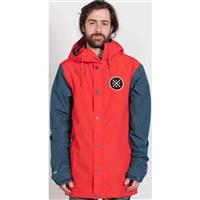 Cardinal Red Holden Coaches Jacket Mens