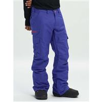 Royal Blue Burton Cargo Pant Relaxed Mens