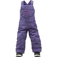 Celestial Confetti Print Burton Minishred Sweetart Bib Pants Toddler Girls