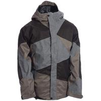 Charcoal / Gray / Tweed / Black Ride Georgetown Shell Jacket Mens