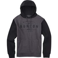 Charcoal Heather Burton Numeral Pullover Hoodie Mens