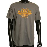 Charcoal Marmot King of Prussia Ice Axe Tee Mens