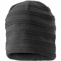 Charcoal Screamer Ripple Hat