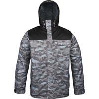 Charcoal Under Armour CGI Hacker Jacket Mens