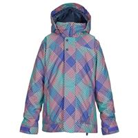 Checkers Print Burton Elodie Jacket Girls