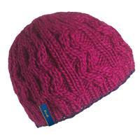 Cherry Turtle Fur Zip Zip Hat Womens