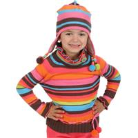 Obermeyer Ava Sweater - Girl's - Chocolate