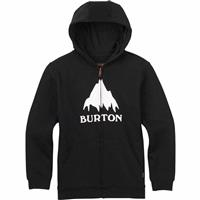 True Black (17) Burton Classic Mountain Full Zip Hoodie Boys