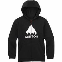 True Black (17) Burton Classic Mountain Full Zip Hoodie Mens