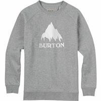 Gray Heather Burton Classic Mountain Crew Mens