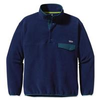 Classic Navy Patagonia Synchilla Snap T Pullover Mens
