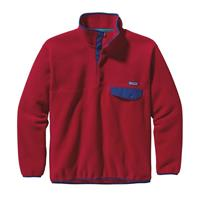 Patagonia Synchilla Snap-T Pullover - Men's - Classic Red