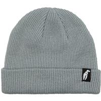 Grey Crab Grab Claw Label Beanie