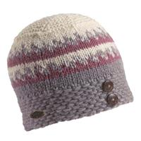 Clay Turtle Fur Nepal Collection Dana Hat Womens