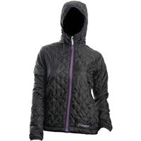 Black Cloudveil Lightweight Emissive Jacket Womens