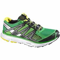 Clover Green / Black / Light Green X Salomon XR Mission Road to Trail Running Shoes Mens
