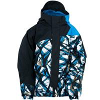 Coast Live Wire / Black / Coast Spyder Mini Rail Jacket Boys
