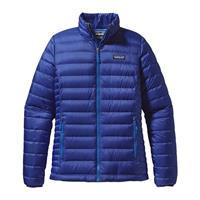 Patagonia Down Sweater - Women's - Cobalt Blue / Andes Blue