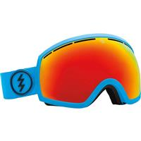 Code Blue Frame with Bronze / Red Chrome Lens Electric EG2 Goggle