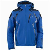 Collegiate / Black / Black Spyder Pinnacle Jacket Mens