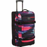 Glitch Print Burton Convoy Roller Travel Bag