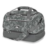 Cool Grey DigiCamo High Sierra Over Under Cargo Duffel Bag