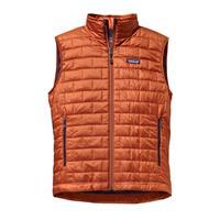 Copper Ore / Classic Navy Patagonia Nano Puff Vest Mens
