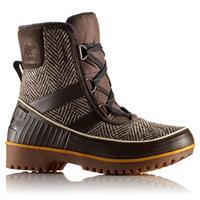 Cordovan Chevron Sorel Tivoli II Boots Womens