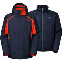 Cosmic Blue / Acrylic Orange The North Face Vortex Triclimate Jacket Mens